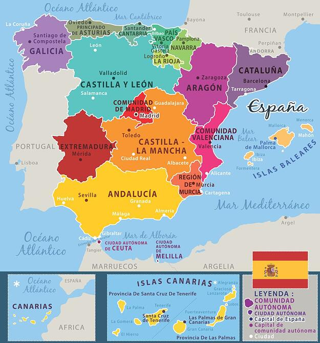 How many languages are spoken in Spain