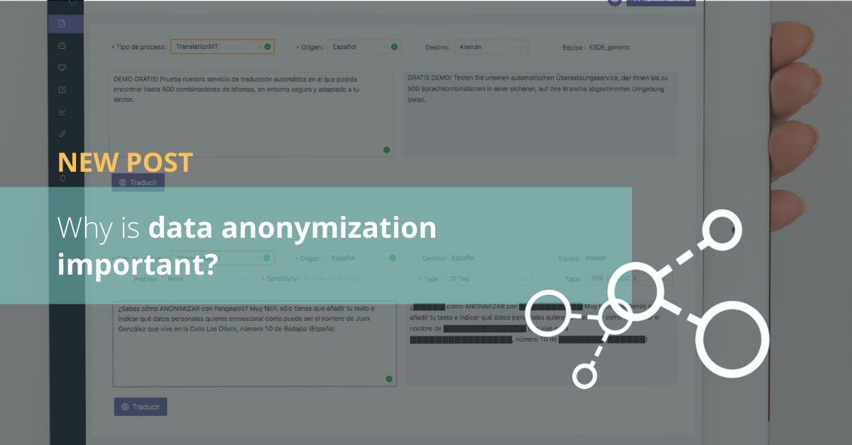 Why is data anonymization important?