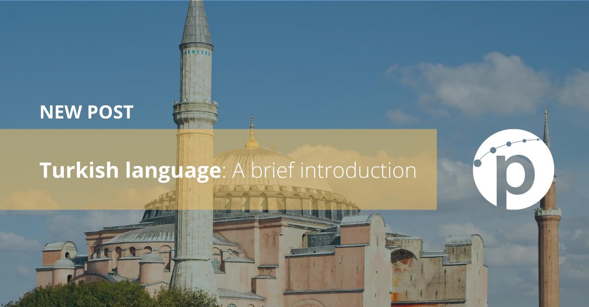 Turkish language: A brief introduction